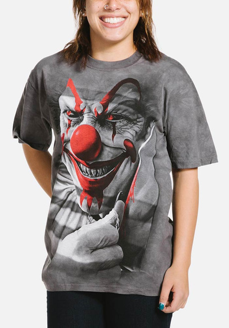 Clown Cut T-Shirt Modeled