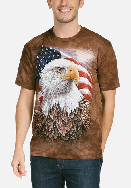 Independence Eagle T-Shirt Modeled