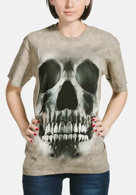 Big Face Skull T-Shirt Modeled