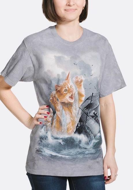 Krakitten T-Shirt Modeled