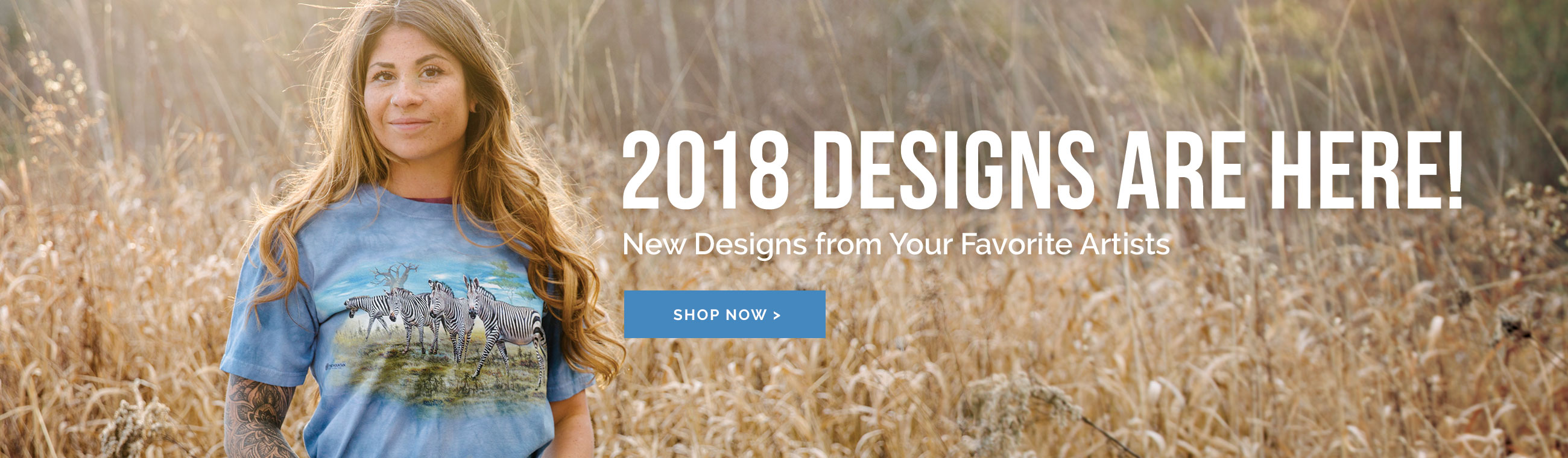 Shop New Designs for 2018