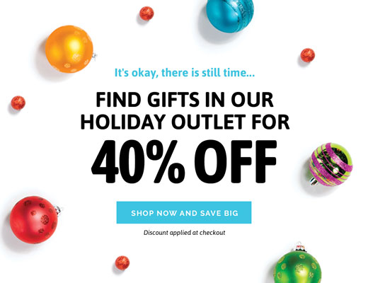 Shop Holiday Outlet Savings