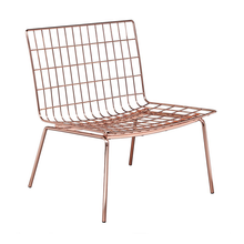 Perpetual Mesh Link Lounge Chair