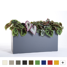 Low Trough Fiberglass Planter