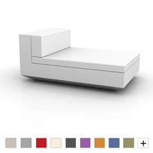 Vela Sectional Sofa Armless Chaise Lounge