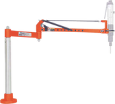"Cleco PBA-18-18-AH Torque Arm | parallel Arm | Spring | 18"" Extension 