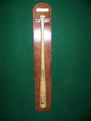 BASEBALL BAT RACKS, Single Full Length Bat Display BB 200A