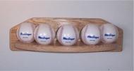BASEBALL DISPLAY, 5 ball  baseball display  WBC 201
