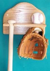 Ball, Bat & Glove Wall Mount  AA 201
