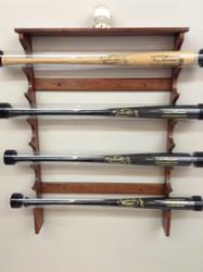 Custom Baseball Bat Racks And Ball Displays