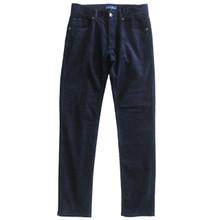 Corduroy Pants Mens Cord Jeans  Slim Fit Navy