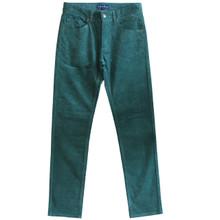 Corduroy Pants Mens Cords Jeans Slim Fit Green Size 30 31 32 33 34 35 36