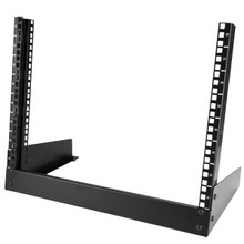 StarTech.com 8U Desktop Rack - 2-Post Open Frame Rack (RK8OD)