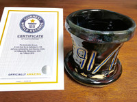 World Record Planter #91/159 and Certificate of Authenticity