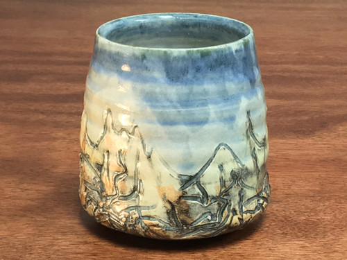 Mountain Cup, roughly 12-13 Ounce Size (E112)