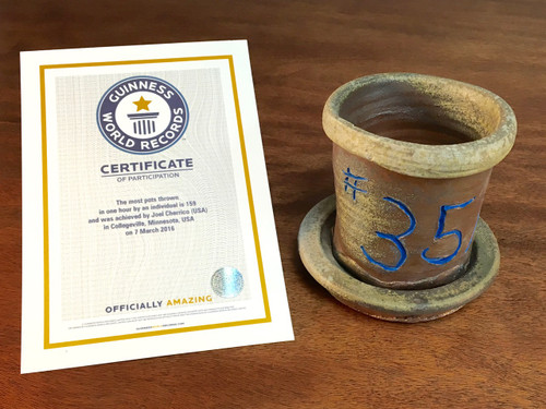 World Record Planter #35/159 and Certificate of Authenticity