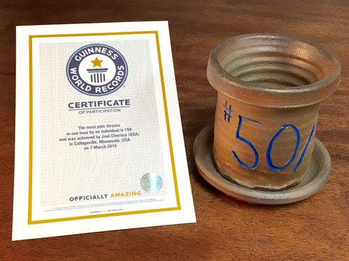 World Record Planter #50/159 and Certificate of Authenticity
