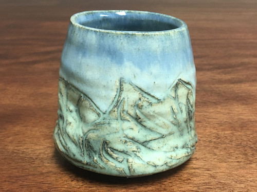 Mountain Cup, roughly 11-12 Ounce Size (E129)