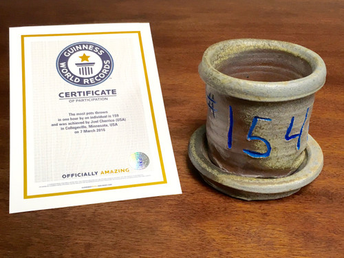World Record Planter #154/159 and Certificate of Authenticity
