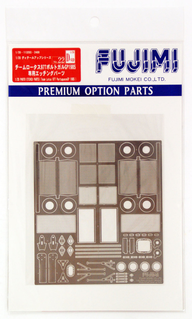 Fujimi Dup22 113203 Detail Up 1/20 Photo Etched Parts TeamLotus 97T Portuguese GP