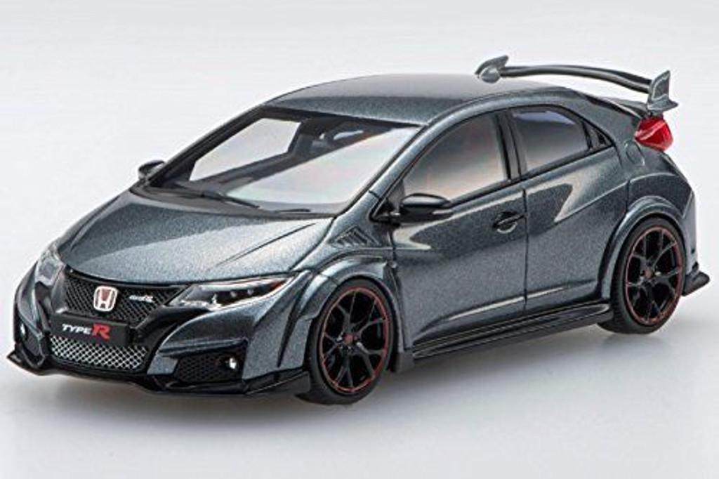 Ebbro 45356 Honda CIVIC TYPE R 2015 Polished Metal Metallic 1/43 Scale