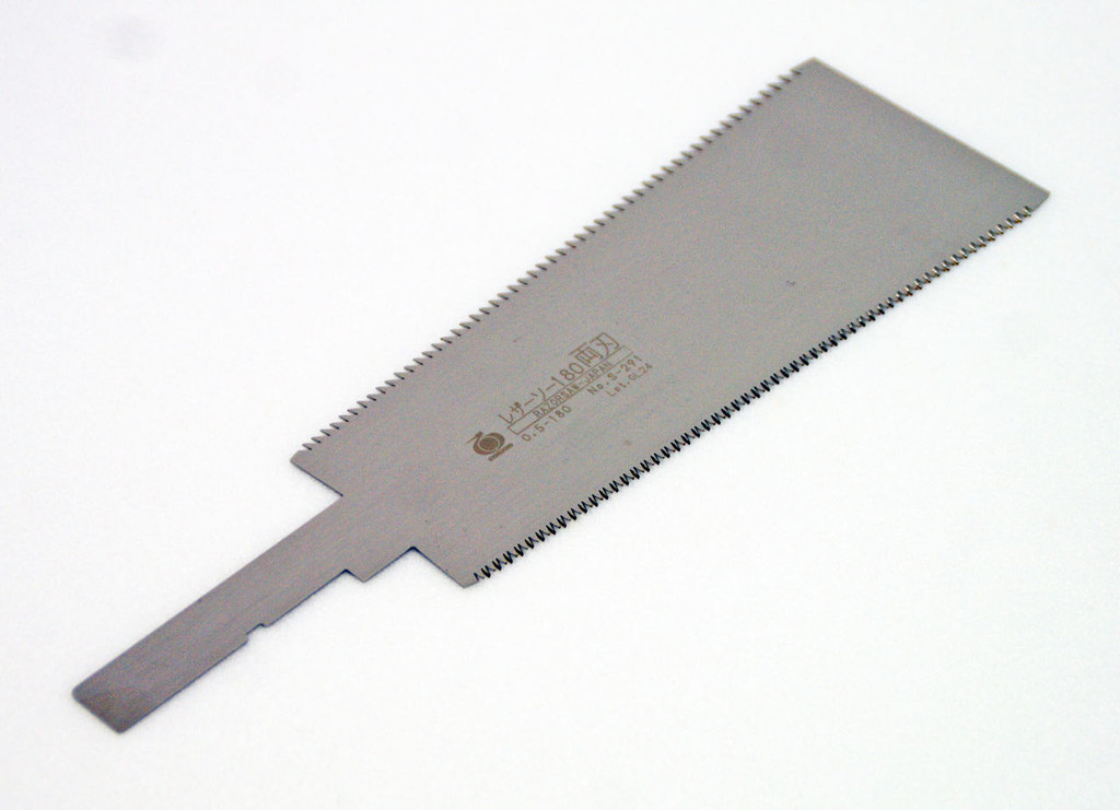 Gyokucho S-291 Razor Saw 180 Double Edge Spare Blade (Length:180 Pitch:1.5) SYU