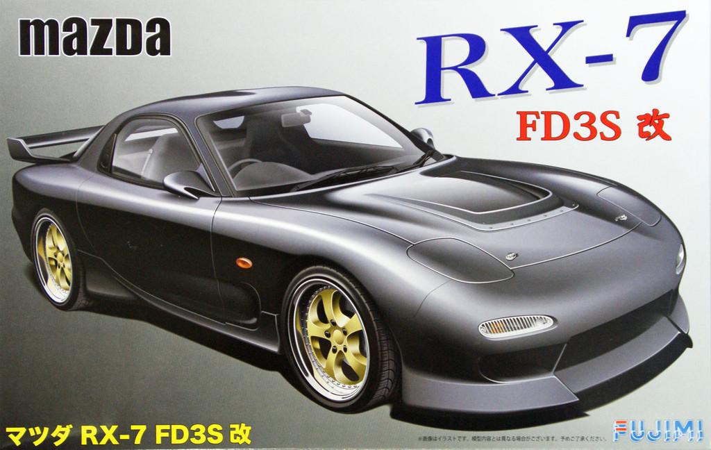 Fujimi ID-43 Mazda RX-7 FD3S Kai 1/24 Scale Kit 038971