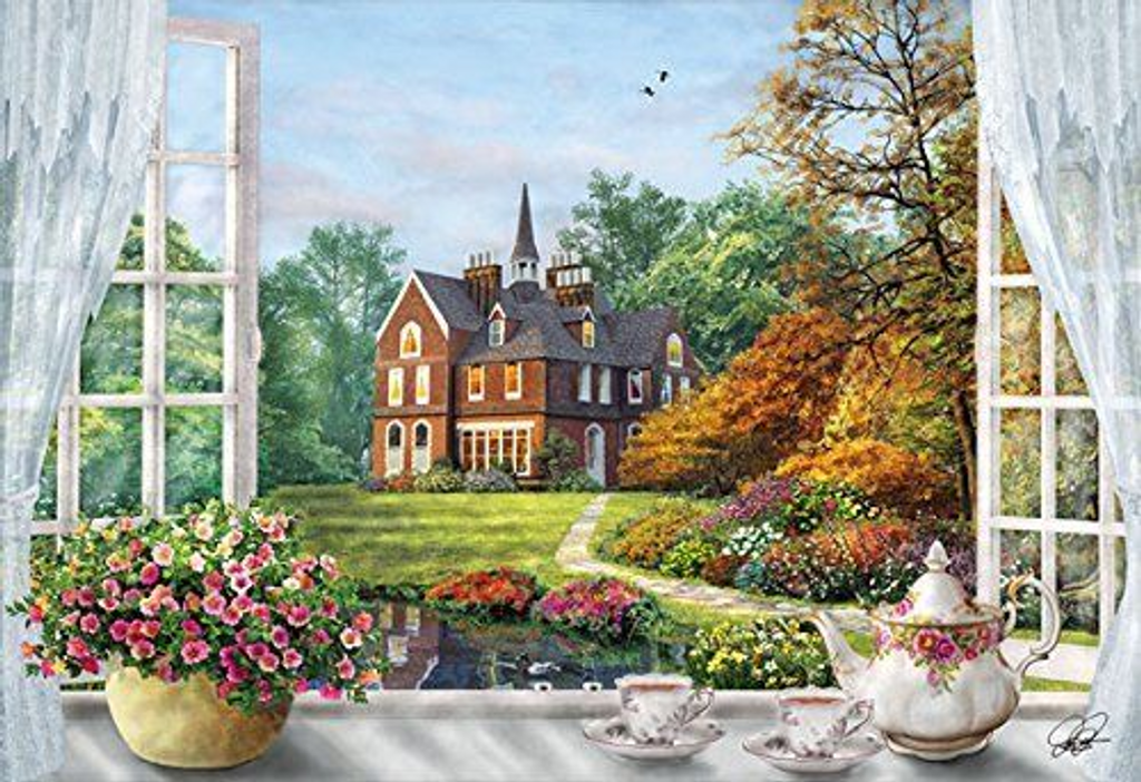 APPLEOne Jigsaw Puzzle 300-304 Dominic Davison Nice View (300 Pieces)