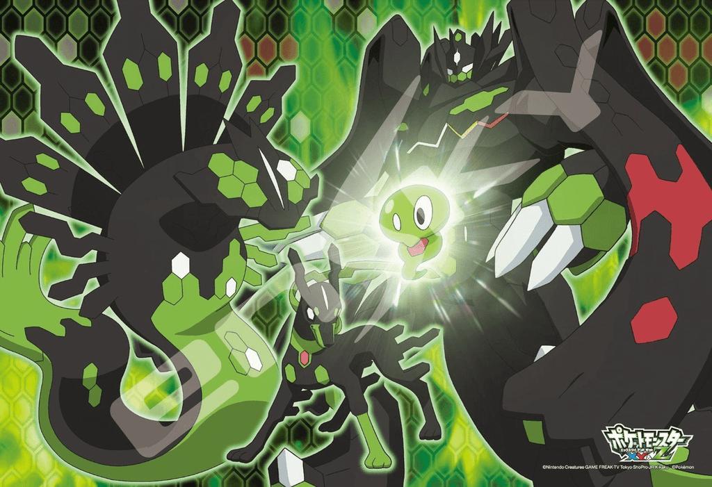 Ensky Jigsaw Puzzle 108-L555  Japanese Anime Pokemon XY&Z (108 L-Pieces)
