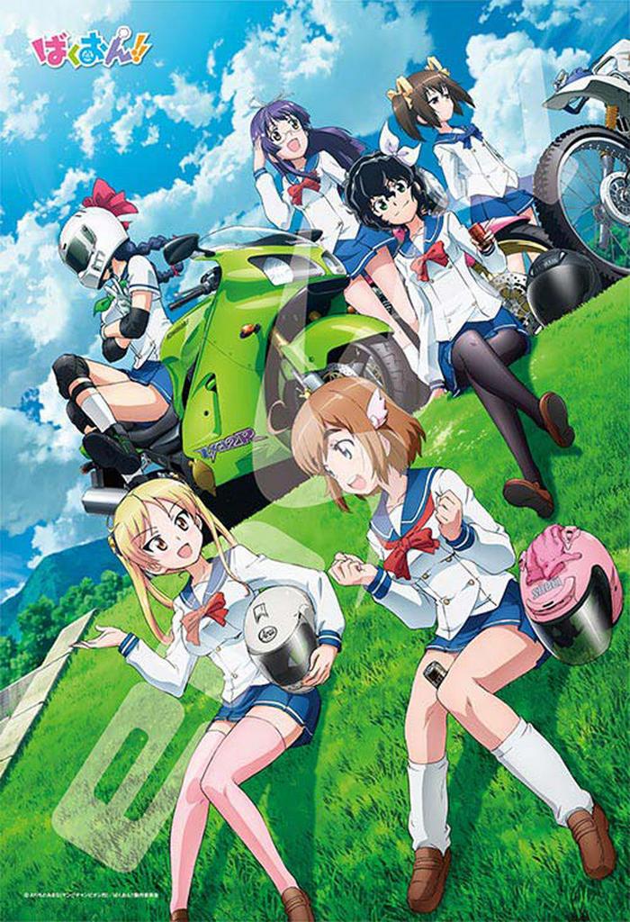 Ensky Jigsaw Puzzle 300-1146 Japanese Anime Bakuon (300 Pieces)