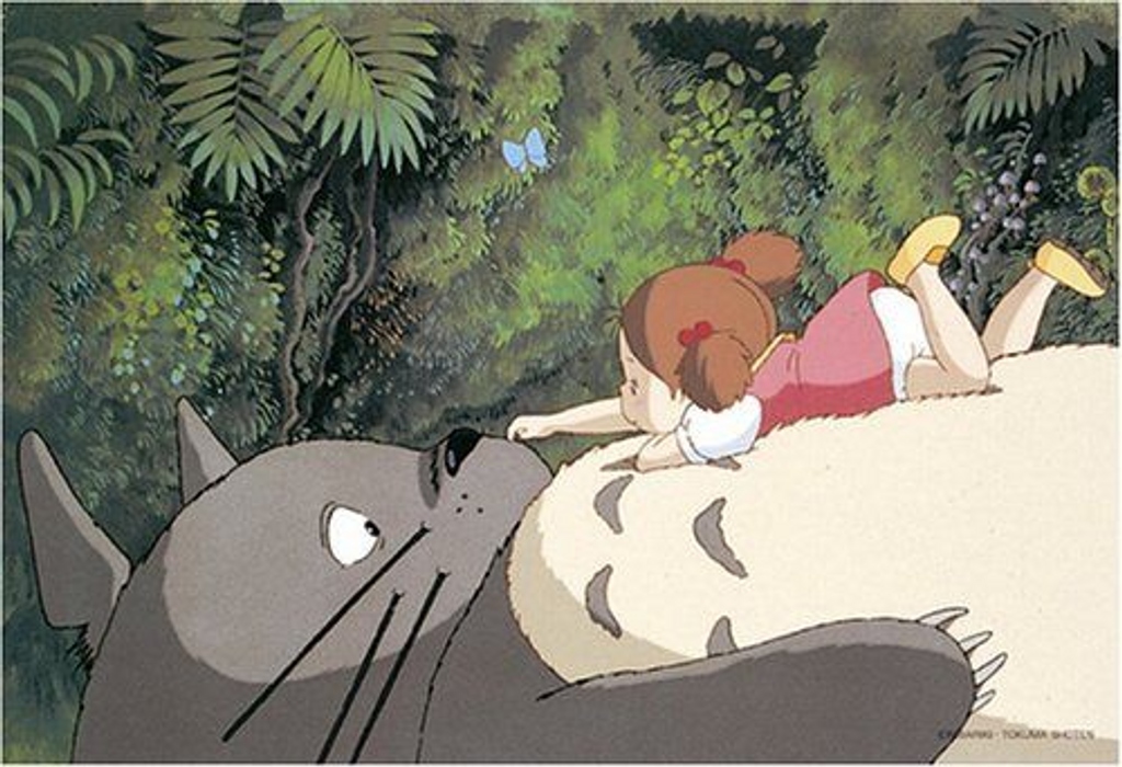 Ensky Jigsaw Puzzle 300-201 My Neighbor Totoro Studio Ghibli (300 Pieces)