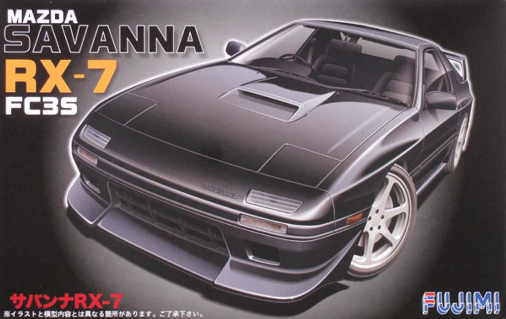 Fujimi ID-158 Mazda Savanna RX-7 FC3S 1/24 Scale Kit