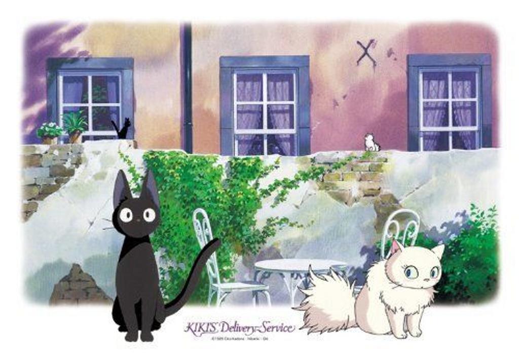 Ensky Jigsaw Puzzle 300-271 Kikis Delivery Service Studio Ghibli (300 Pieces)