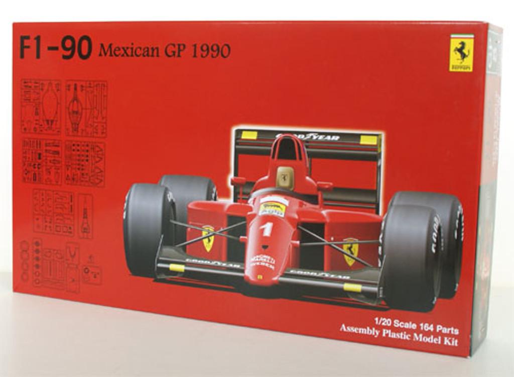 Fujimi GP8 090436 F1 Ferrari F1-90 1990 Mexican GP 1/20 Scale Kit
