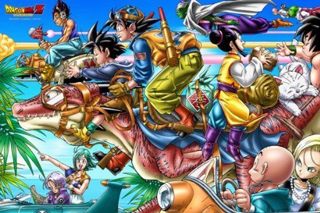 Ensky Magical Piece Jigsaw Puzzle 1000-MG01 Japanese Anime Dragon Z(1000 Pieces)
