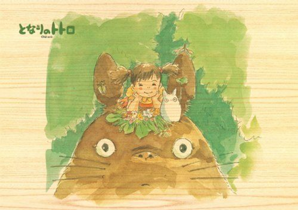 Ensky Wooden Jigsaw Puzzle 208-W204 My Neighbor Totoro Studio Ghibli(208 Pieces)