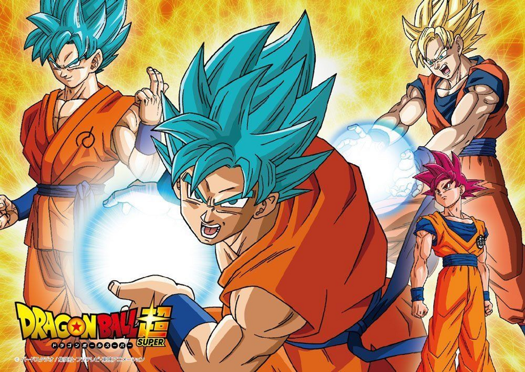 Beverly Jigsaw Puzzle 100-004 Dragon Ball Super Evolution Goku (100 L-Pieces)