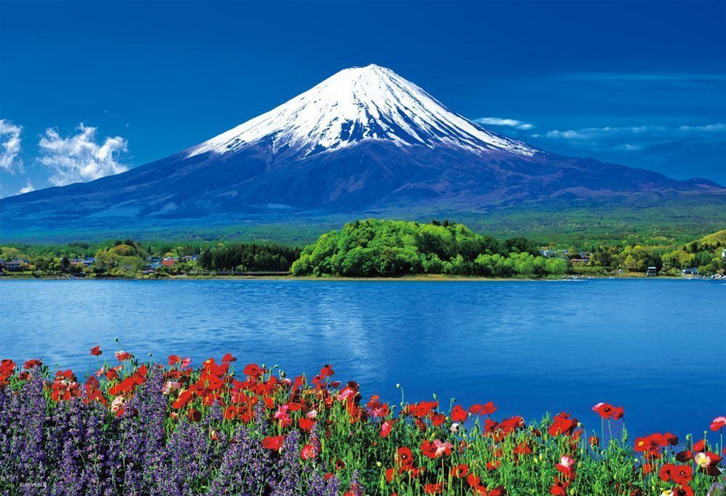 Beverly Jigsaw Puzzle 33-113 Japanese Scenery Mt. Fuji (300 Pieces)