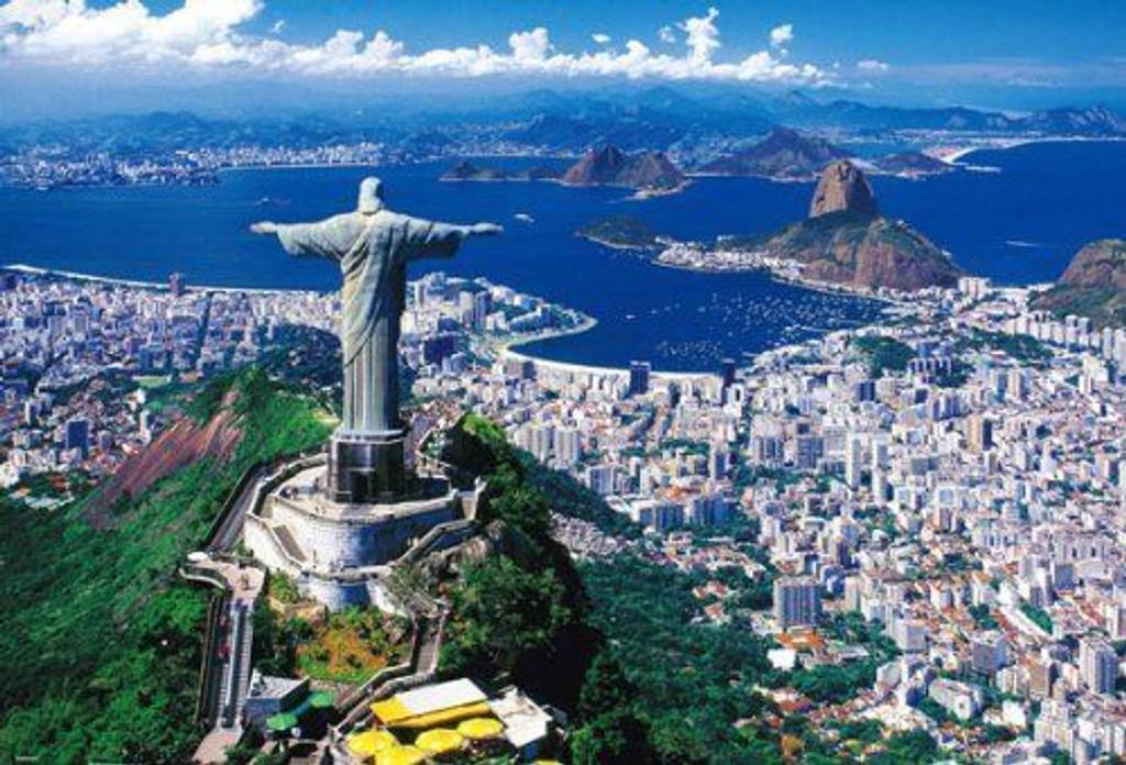 Beverly Jigsaw Puzzle 51-181 Rio de Janeiro Brazil (1000 Pieces)
