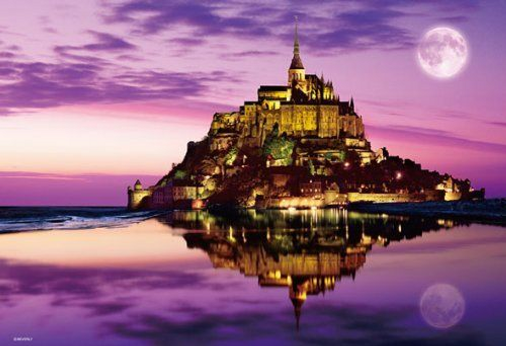 Beverly Jigsaw Puzzle M71-830 Mont Saint-Michel in France (1000 S-Pieces)