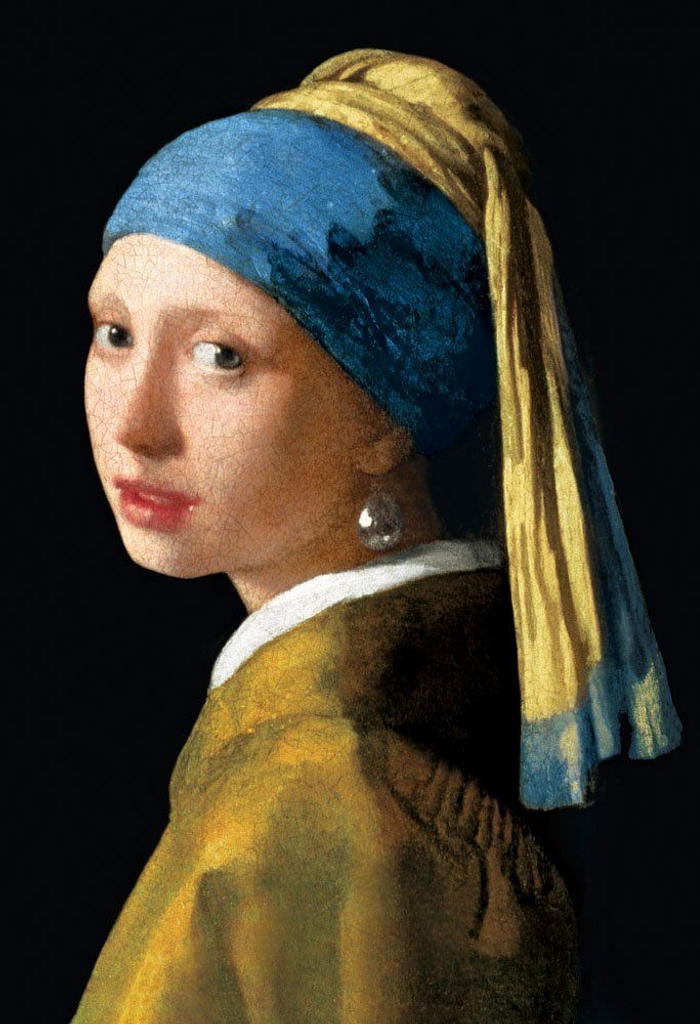 Beverly Jigsaw Puzzle M71-851 Vermeer Girl with a Pearl Earring (1000 S-Pieces)
