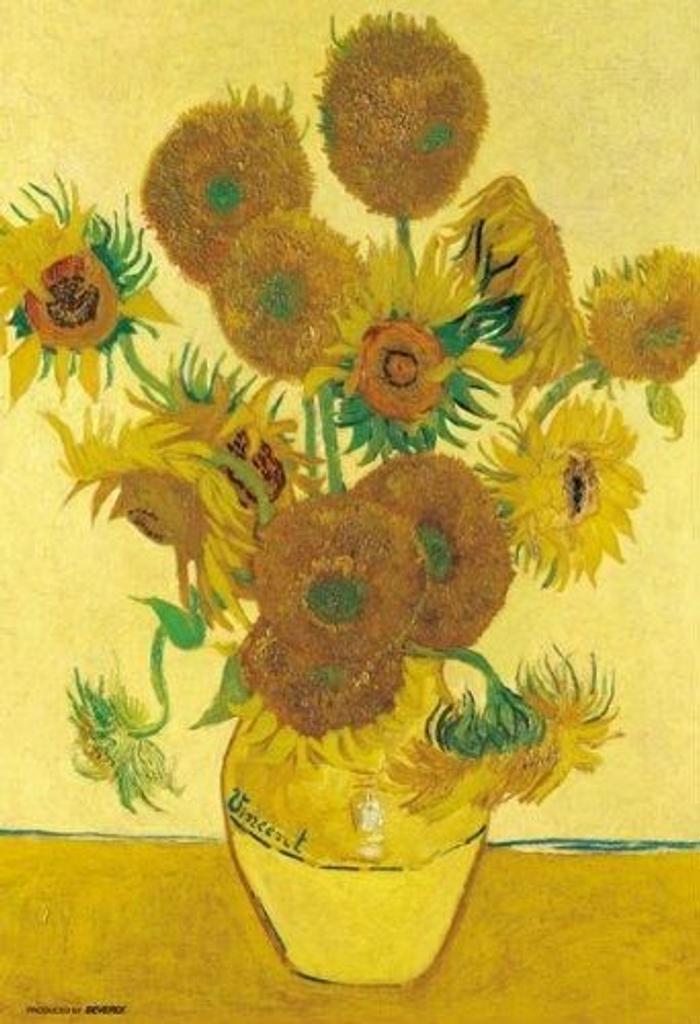 Beverly Jigsaw Puzzle M71-861 Vincent van Gogh Sunflowers (1000 S-Pieces)