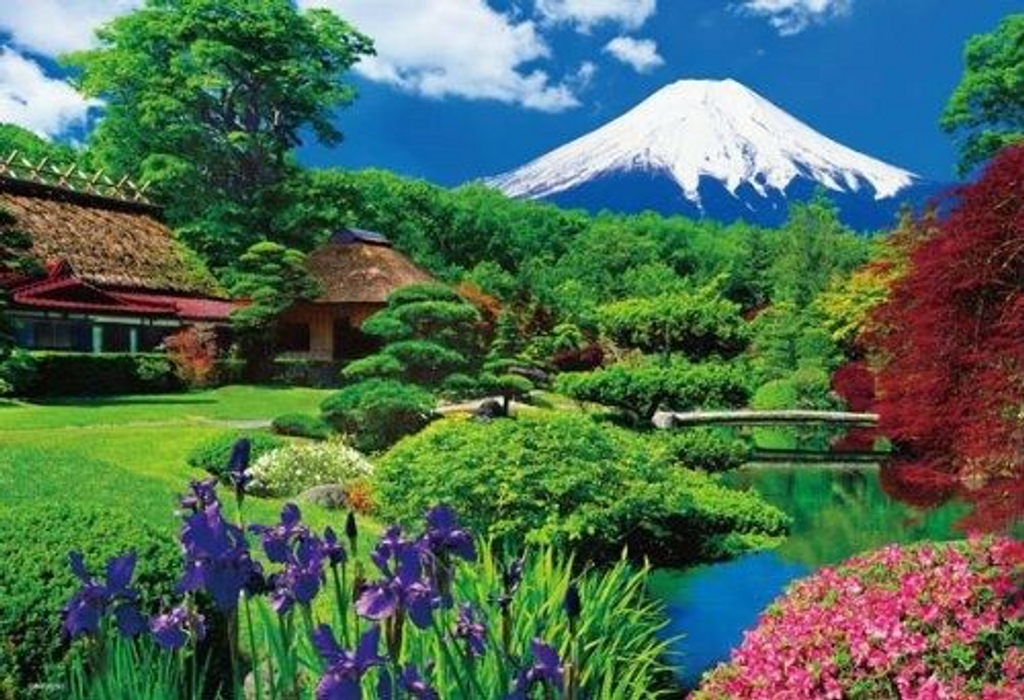Beverly Jigsaw Puzzle M71-865 Japanese Scenery Mt. Fuji (1000 S-Pieces)