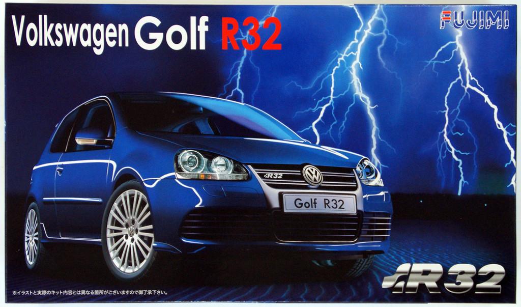 Fujimi RS-02 Volkswagen Golf R32 1/24 Scale Kit