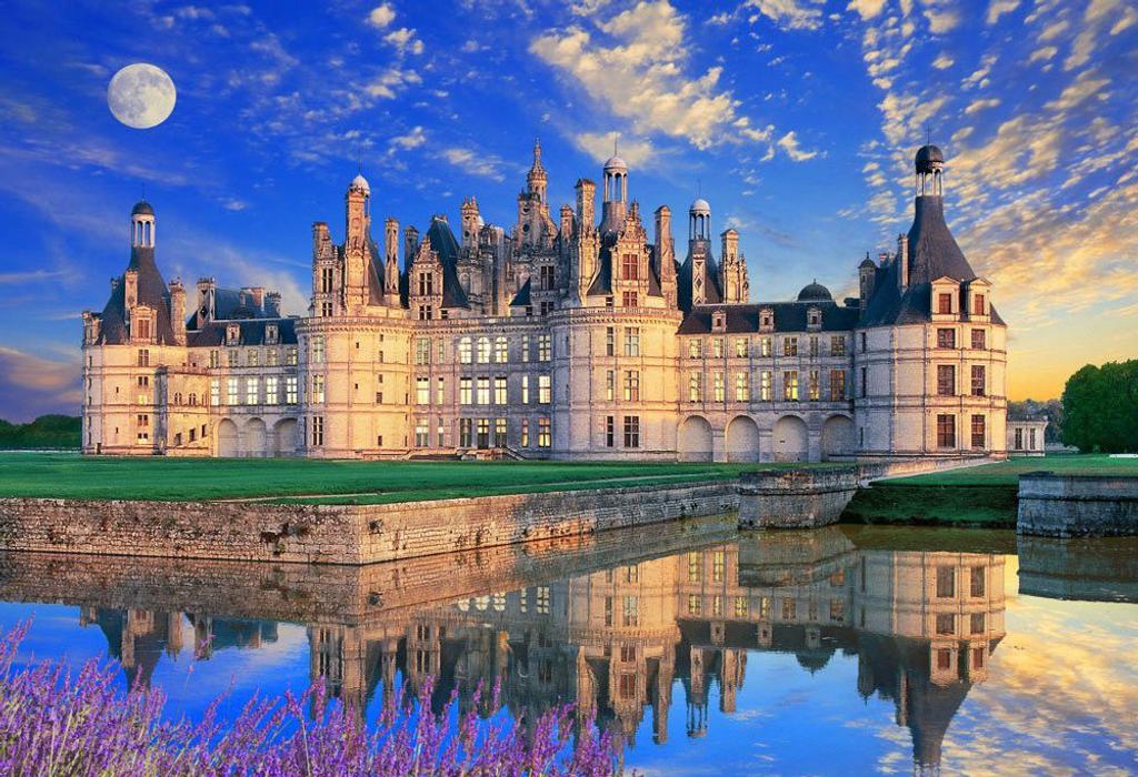 Beverly Jigsaw Puzzle M81-851 Château de Chambord Castle (1000 S-Pieces)