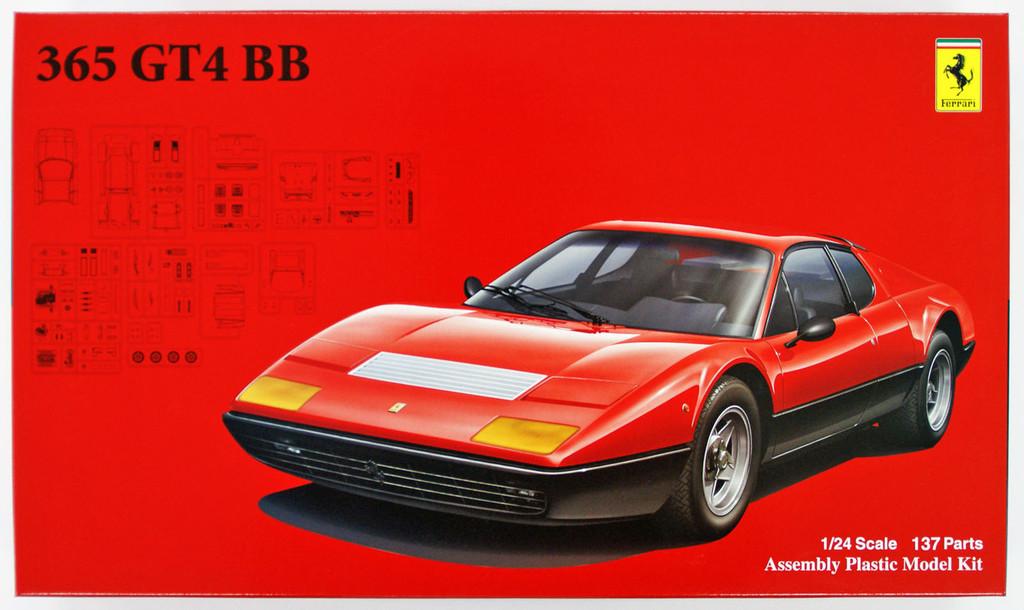 Fujimi RS-25 Ferrari 365GT4/BB 1/24 Scale Kit