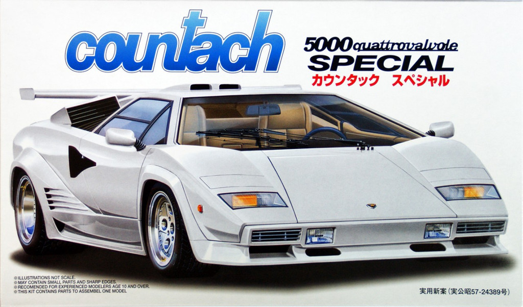 Fujimi RS-53 Countach Special 1/24 Scale Kit