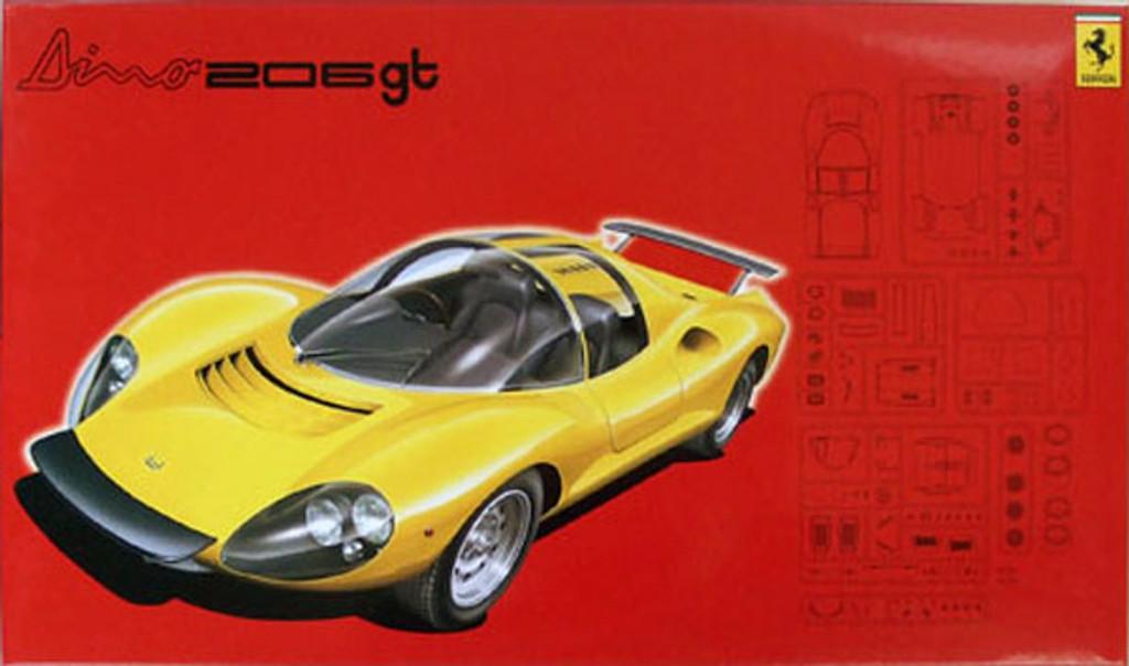 Fujimi RS-76 Ferrari Dino 206gt 1/24 Scale Kit