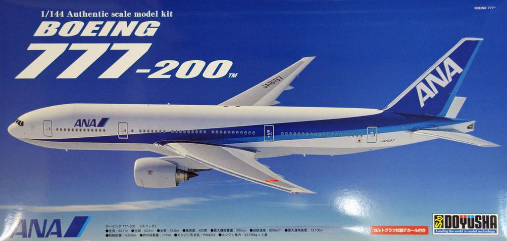Doyusha 420461 Boeing 777-200 ANA All Nippon Airways 1/144 Scale Plastic Kit