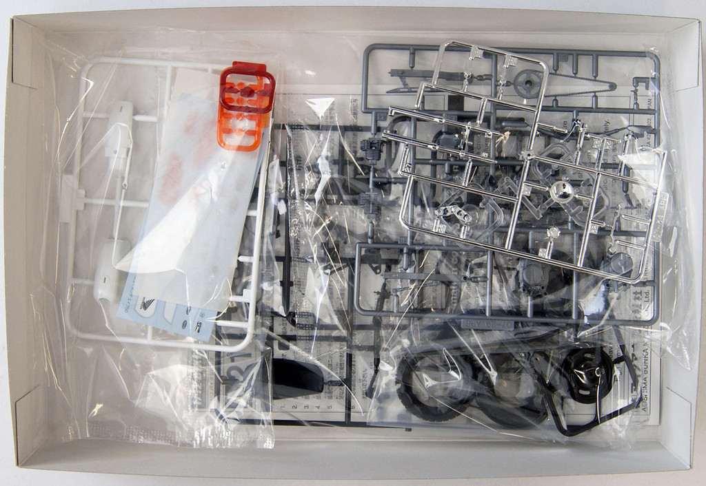 Aoshima 51702 Bike 21 Honda Ape 50 1/12 Scale Kit